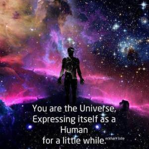 you are the universe expressing itself